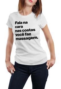 Camiseta Hunter Fala Na Cara Branca