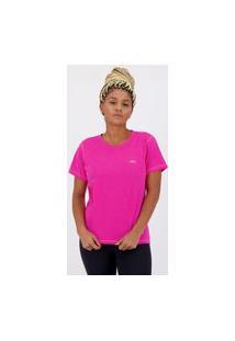 Camiseta Olympikus Comfy Feminina Rosa