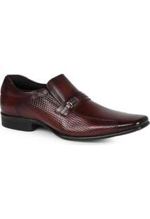 Sapato Social Masculino Rafarillo Textura Lateral