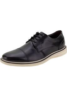 Sapato Masculino Metropolitan Bay Democrata - 273101 Preto 40