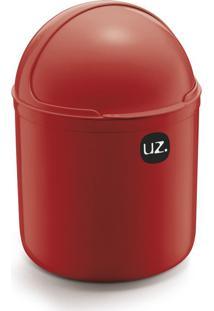 Lixeira Plus I Vermelha 4 L