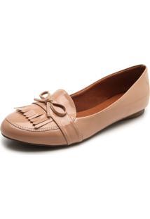 bfc4874a3 Mocassim Bege Textura feminino   Shoes4you