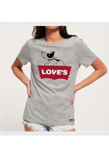 Camiseta Love´S Buddies Feminina - Feminino