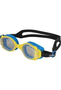 Óculos De Natação Speedo Lappy - Infantil - Amarelo/Azul
