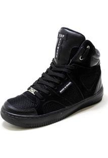 Tênis Botinha Sneakers Cano Alto Top Fitness Masculino - Masculino