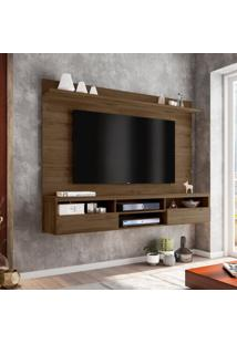 Painel Para Tv 72 Polegadas Antares Carvalho 180 Cm