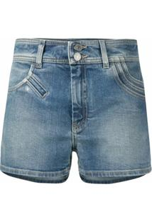 Givenchy Short Jeans Hot Pant - Azul
