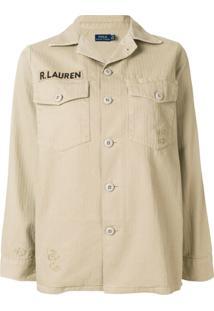 Polo Ralph Lauren Camisa 'Military' - Neutro
