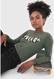 Camiseta Volcom The Stones Verde
