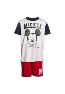 Pijama Infantil Menino Estampado Mickey And Friends