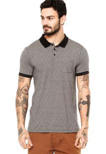 Camisa Polo Manga Curta Hurley Icon Jacquard Preta a2c986a000ee7