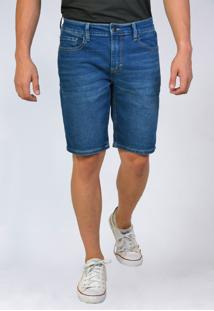 Bermuda Jeans Tradicional Yck'S Azul
