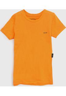 Blusa Ellus Kids Infantil Logo Amarela - Tricae