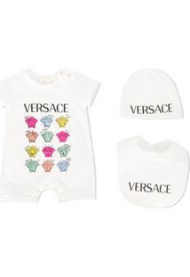 Young Versace Body Com Estampa Gráfica - Branco