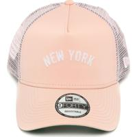 950cc84624189 Boné New Era Trucker New York Yankees Rosa