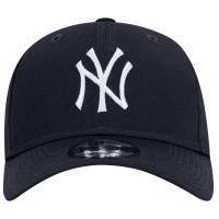 15d44e0e3 Boné Aba Curva New Era 920 New York Yankess - Strapback - Adulto - Azul  Escuro