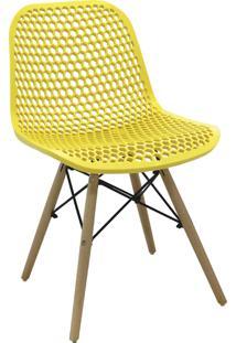 Cadeira Eloisa Amarela Rivatti - Amarelo - Dafiti