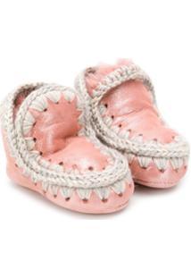 Mou Kids Bota De Neve Eskimo - Rosa