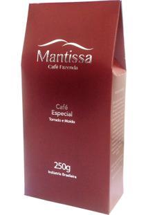 Café Gourmet Mantissa Torrado E Moído 250G - Para Cafeteira Italiana