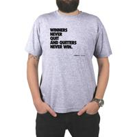 f1a360c3a0 Camiseta Progear Winners Never Quit - Masculino