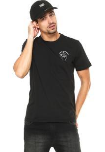 558c5bcb09 Camiseta Adidas Skateboarding Reta Estampada Preta