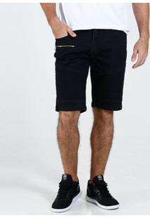 Bermuda Masculina Jeans Recorte Slim Marisa