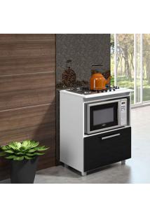 Balcao P/ Cooktop 4 E 5 Bocas 5007 Branco Premium - Multimóveis