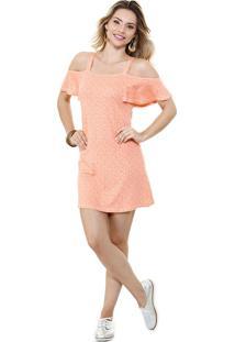 Vestido Feminino Open Shoulder Marisa