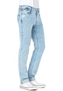 Calça Jeans Convicto Regular Destroyed Clair