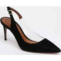6fa9c02af Scarpin Camurca Recorte feminino | Shoes4you