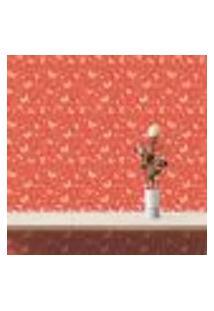 Papel De Parede Autocolante Rolo 0,58 X 5M - Borboleta Coração 105286676