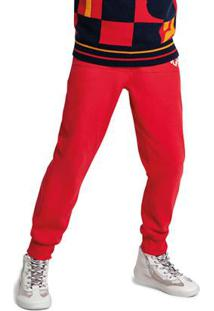 Calça Vermelha Menino