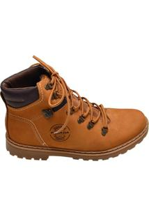 Bota Masculina Pegada Marrom Whisky E Anilina Brown