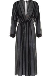 Vestido Capricórnio - Preto