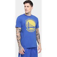 6f0ab3b0c Camiseta Nba Golden State Warriors New Era Game Piece Masculina - Masculino
