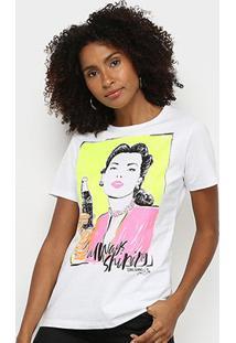 Camiseta Coca Cola Always Shiping Feminina - Feminino