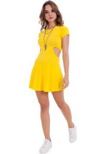 Vestido Manola Mari - Feminino-Amarelo