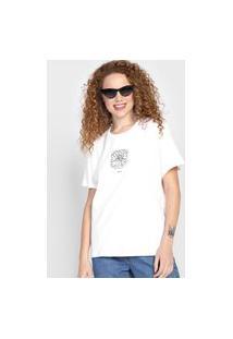 Camiseta Colcci Seguindo O Sol Branca