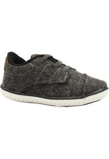 Sapato Infantil Klin Lã - Masculino-Cinza