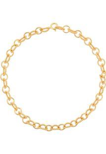 Astley Clarke Choker Stilla Arc De Prata Banhada A Ouro - Dourado