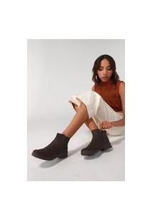 Bota Piccadilly Suede Marrom