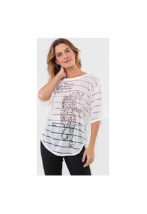 Camiseta Triton Tigre Off-White