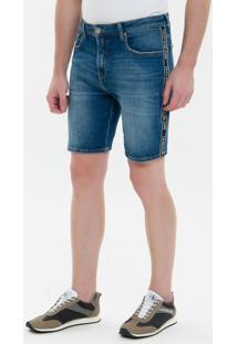 Bermuda Jeans Five Pockets - Marinho - 42