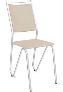Cadeira Kappesberg Londres 2C056Cr (2 Uni) Cromada/Nude