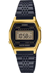 Relógio Digital Casio Unissex - La690Wgb1Df 9638483 Preto