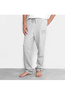 24f53eb16 Calça Pijama Calvin Klein Cotton Masculina - Masculino