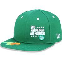 Boné New Era 950 Orig. Fit Snapback Palmeiras Verde b856acfde22