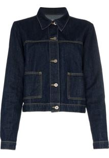 Eve Denim Classic Denim Jacket - Azul