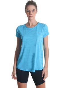 Camiseta Levíssima Mescla - Azul - Líquido