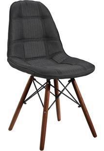 Cadeira Em Mdf/Mdp 1114-Or Design - Preto / Escuro